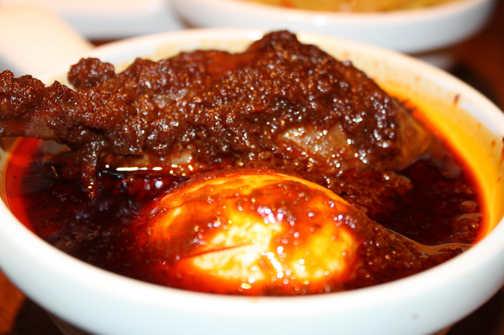 የዶሮ ወጥ | YeDoRo WoT (Chicken) @ Benyam Ethiopian Cuisine