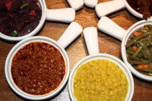 VEGGIE COMBO የጾም በያይነቱ YeTSom BeYaYnetu @ Benyam Ethiopian Cuisine