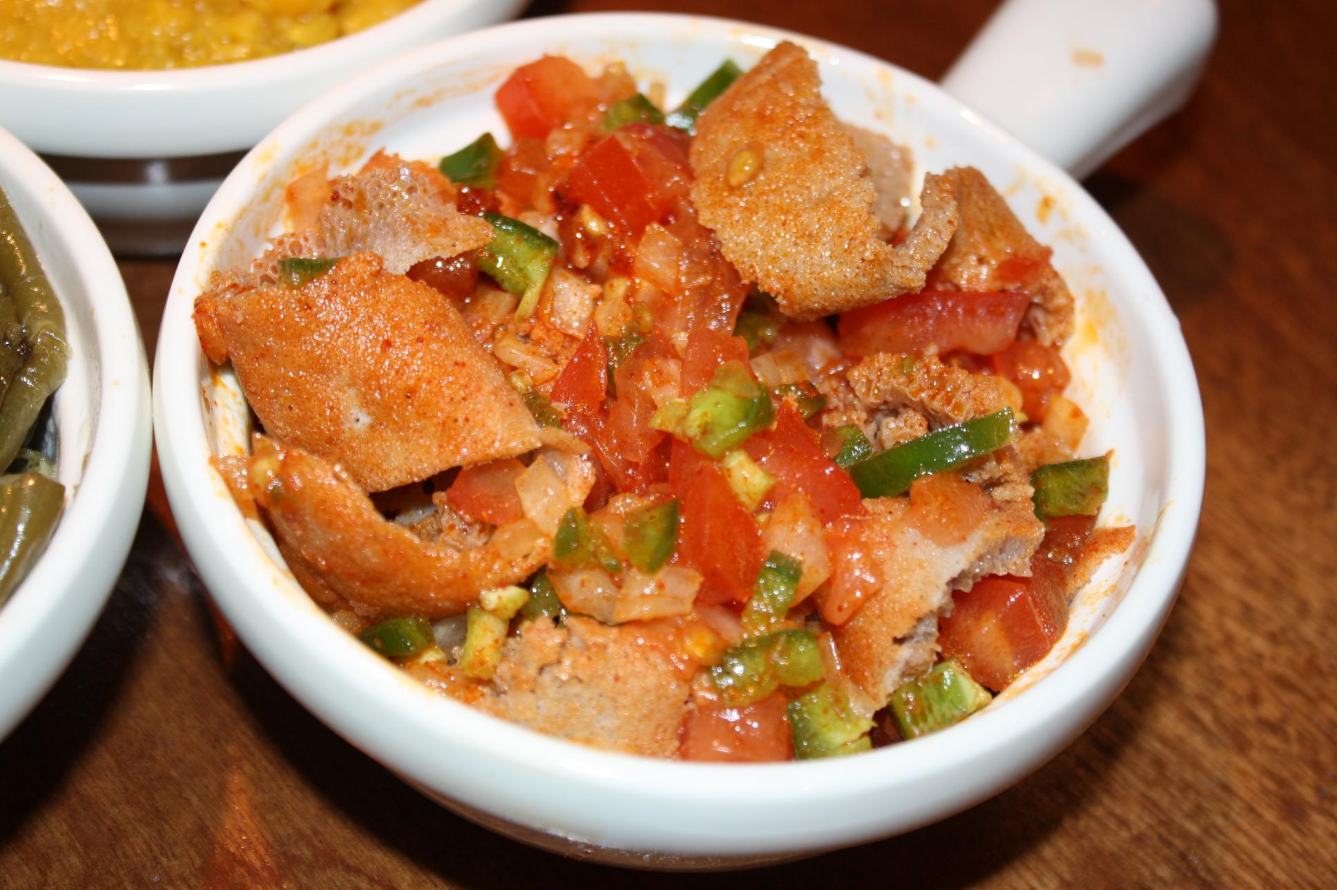 የቲማቲም ፍትፍት YeTiMaTiM FiTFiT @ Benyam Ethiopian Cuisine