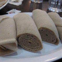 እንጀራ | Injera @ Benyam Ethiopian Cuisine